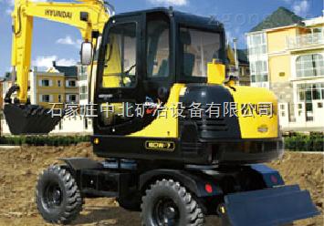 现代重工R60W-7轮式挖掘机配件