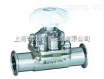 G81F卫生级快装隔膜阀 气动隔膜阀售后好 DN150 200 220 隔膜阀